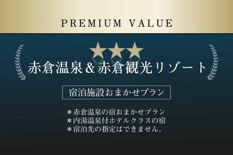 【プレミアムバリュー】 (リフト1日券付き/朝・夕食付き)
