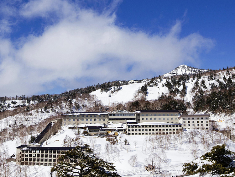 万座プリンスホテル指定(リフト2日券付き/朝・夕食付き/バス・トイレ付き)